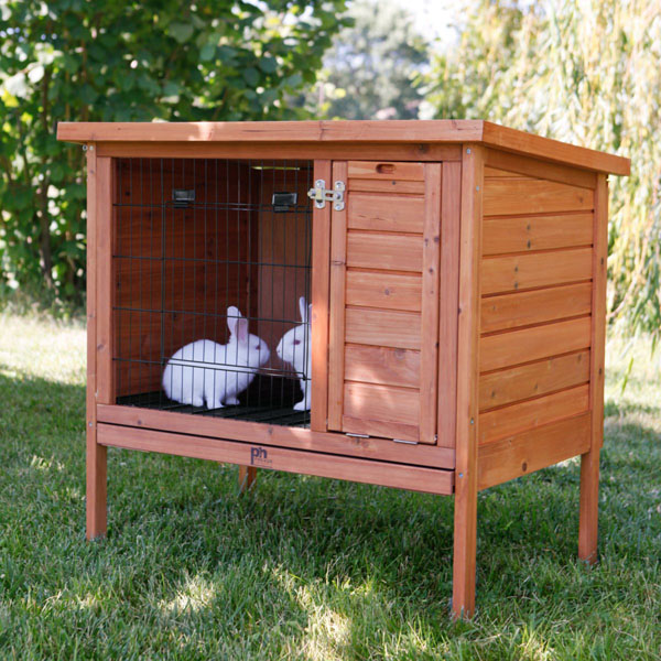 Rabbit cages orthopedic dog beds dog bowls and feeders for What is a rabbit hutch